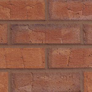 65mm Abbey Red Multi Brick